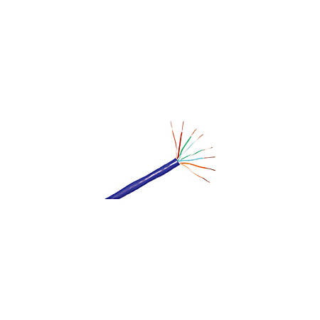 ClearLinks 1000FT Cat. 6 550MHZ Stranded Blue Bulk Cable - Category 6 - 1000ft - Bare Copper - Bulk - Stranded - Blue
