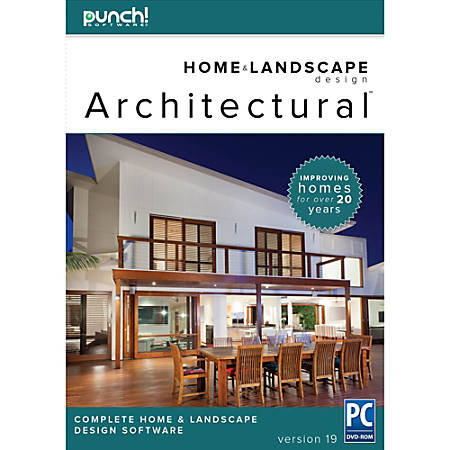 Punch Architectural Series 19 for PC, Download Version