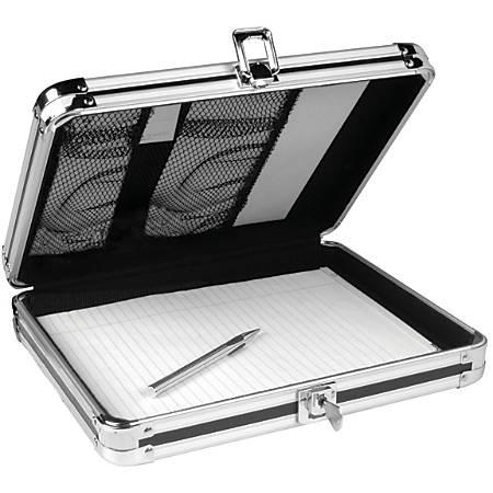 """Vaultz® Form Holder Storage Clipboard, 8 1/2"""" x 11"""", Black"""