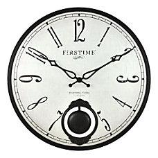 FirsTime Co Bistro Pendulum Wall Clock