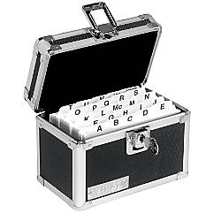 Vaultz Locking Index Card Box 3