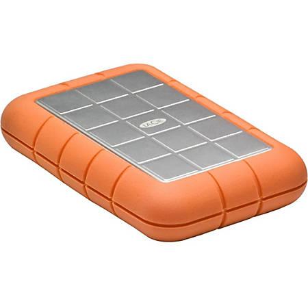 LaCie Rugged Triple LAC9000448 2 TB Hard Drive - SATA - External - Portable