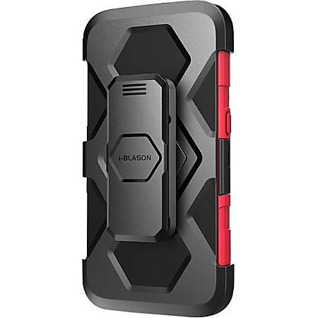 i-Blason Prime Carrying Case (Holster) Smartphone - Red