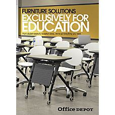 2017 Office Depot Education Furniture Insert