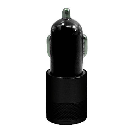 Duracell® Dual USB Car Charger, Black