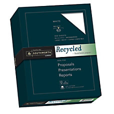 Southworth FSC Certified Cotton Business Paper