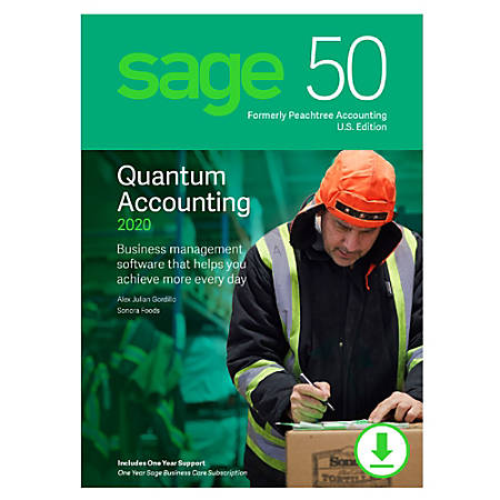 Sage 50 Quantum Accounting 2020 U.S. 3-User