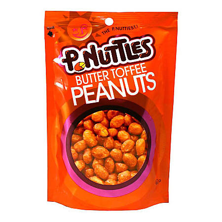 P-Nuttles Butter Toffee Peanuts, 5.25-Oz Bag