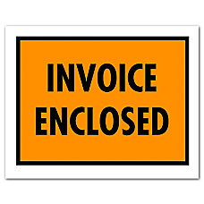 Office Depot Brand Invoice Enclosed Envelopes