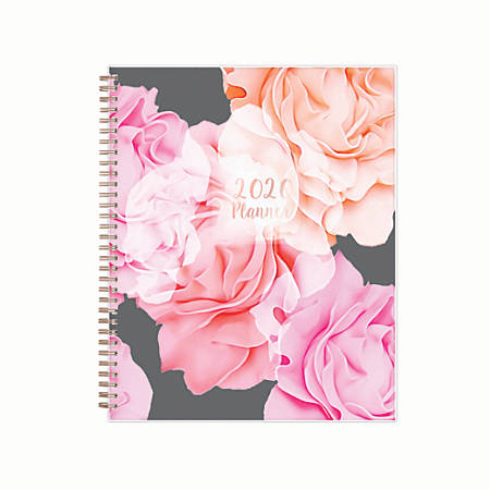 """Blue Sky™ Weekly/Monthly Planner, 8-1/2"""" x 11"""", Joselyn, January to December 2020"""