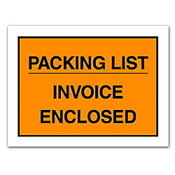 Office Depot Brand Packing ListInvoice Enclosed