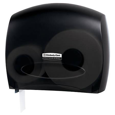 Kimberly-Clark Professional™ In-Sight™ JRT Jr. Escort™ Jumbo Bathroom Tissue Dispenser, Smoke/Gray