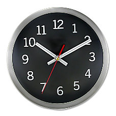 Artistic 9 Round Wall Clock Quartz