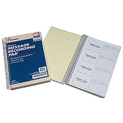 SKILCRAFT Telephone Message Pads Book Of