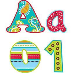 Creative Teaching Press 4 Designer Letters