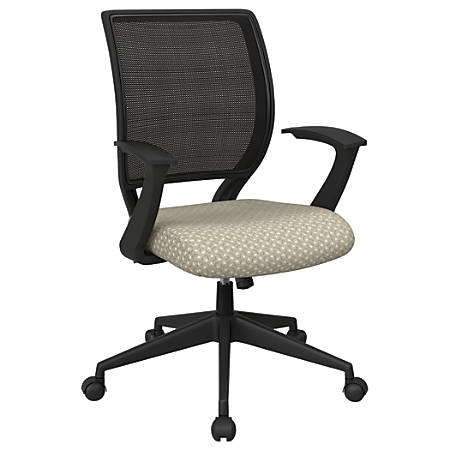Office Star™ Work Smart Mesh Task Chair, Sandstone/Black
