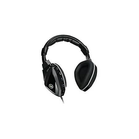 IOGear® Kaliber Gaming Saga Over-The-Head Surround Sound Gaming Headphones