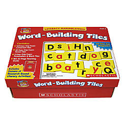 Scholastic Word Building Tiles