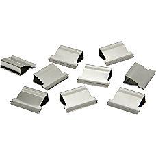 Clam Clip Refills Medium Silver Box