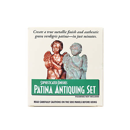 Triangle Coatings Sophisticated Finishes Patina Green Small Starter Set, 2 Oz
