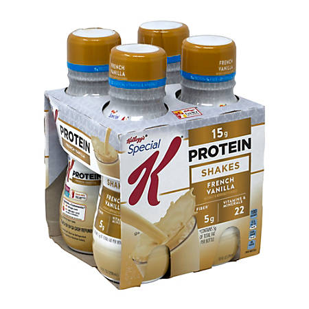 Special K French Vanilla Protein Shakes, 10 Oz, Pack Of 12 Bottles