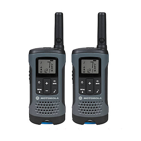 Motorola Talkabout T200 Two-Way Radio, Dark Gray