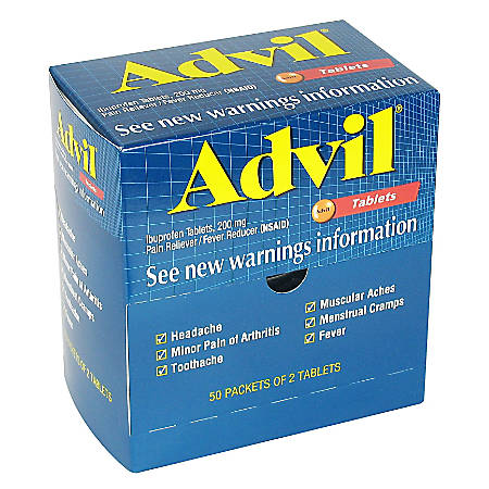 Advil®, Box Of 50