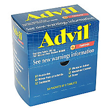 Advil Ibuprofen Packets 2 Tablets Per