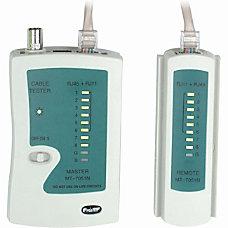 4XEM RJ45RJ11 Network Cable Tester 1