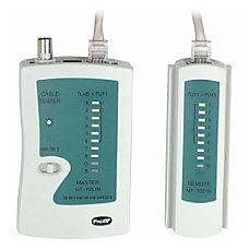 4XEM RJ45RJ11 Network Cable Tester