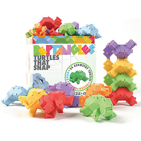 Fat Brain Toy Company Reptangles, Grades 1-4, Pack Of 24