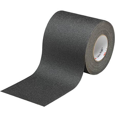 "3M™ 610 Safety-Walk Tape, 3"" Core, 6"" x 60', Black"