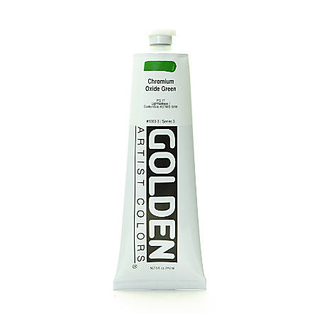 Golden Heavy Body Acrylic Paint, 5 Oz, Chromium Oxide Green