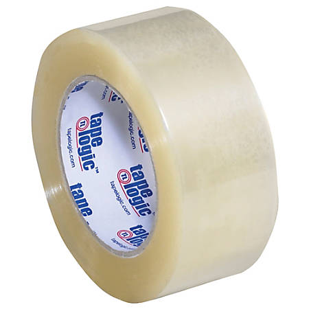 """Tape Logic® Acrylic Sealing Tape, 3"""" Core, 2"""" x 110 Yd., Clear, Pack Of 36"""