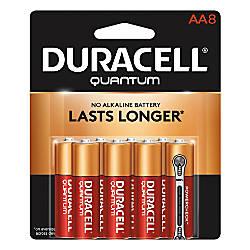 Duracell Quantum AA Alkaline Batteries Pack