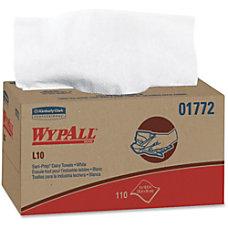 Wypall L10 Sani Prep Dairy Towels
