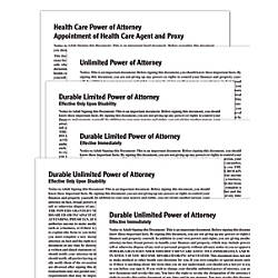 Adams Power of Attorney