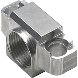 AXIS P33-VE Mounting Adapter for Surveillance Camera - Stainless Steel - Silver