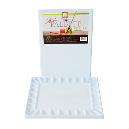 Jones Acrylic & Watercolor Palette, White