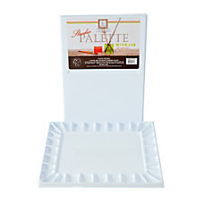 Jones Acrylic Watercolor Palette White