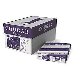 Cougar Digital Printing Paper Letter Size