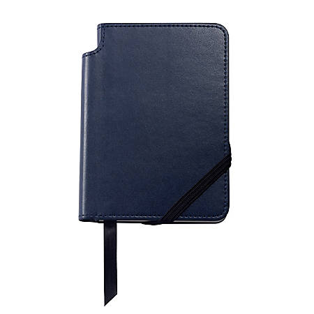 """Cross® Classic® Journal, 4 1/8"""" x 5 5/8"""", 1 Subject, College Ruled, 160 Pages (80 Sheets), Blue"""