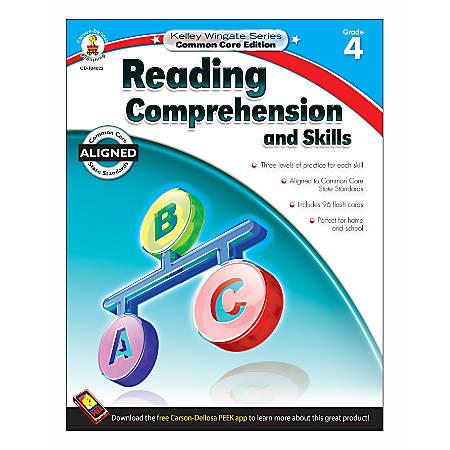 Carson-Dellosa Reading Comprehension And Skills Resource Book, Grade 4