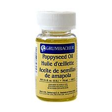 Grumbacher Poppyseed Oil 25 Oz Pack