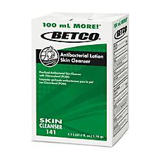 Betco Antibacterial Lotion Skin Cleanser Fresh
