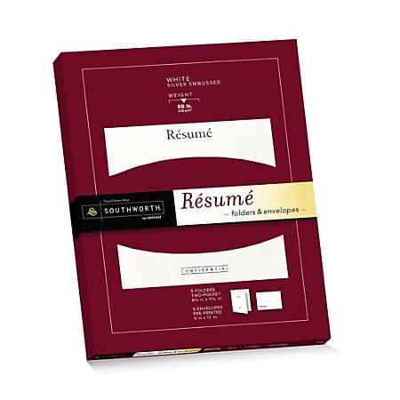 Southworth R sum Folders Envelopes 9 x 12 88 Lb WhiteSilver Pack Of ...
