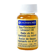 Grumbacher Sun Thickened Linseed Oil 25