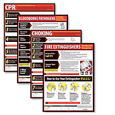 ComplyRight Lifesaving Poster Set