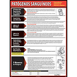 ComplyRight Bloodborne Pathogens Spanish Poster