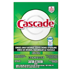 Cascade Dishwasher Detergent Powder 60 oz